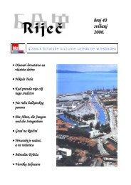 Riječ br. 40 svibanj 2006 PDF Download - Hrvatska kulturna ...
