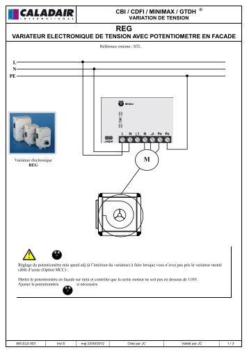 MS-ELE-003 A - Régulateur_Variateur REG VEC RES au ... - caladair