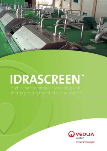 New Idrascreen eng_17-02-09.indd - Veolia Water Solutions ...