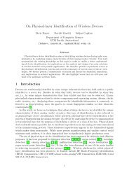On Physical-layer Identification of Wireless ... - System Security Group