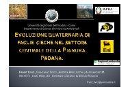 Presentazione Congresso GIGS 2009 Udine - Università degli Studi ...