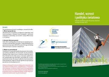 Handel, wzrost i polityka światowa - Enterprise Europe Network