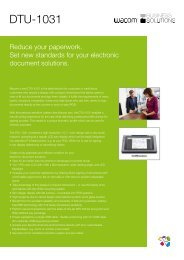 DTU-1031 - wacom business solutions