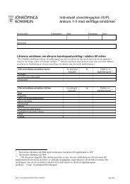 Individuell utvecklingsplan (IUP) - Skola.jonkoping.se