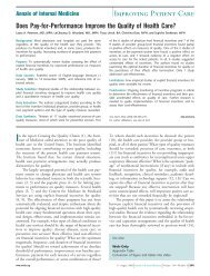 Improving Patient Care - ppmrn