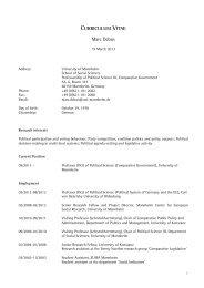 Curriculum Vitae - LSPOL3