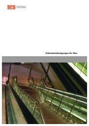 Geländerbefestigungen für Glas - SFS unimarket AG