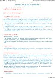 ley 27/199, de 26 de julio, de cooperativas - Erkide