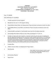 Full PDF of Packet - City of Shawnee Oklahoma