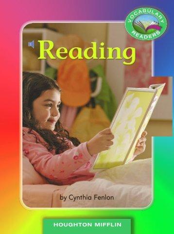 Lesson 6:Reading