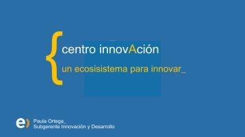 Presentación Centro de Innovación - Entel