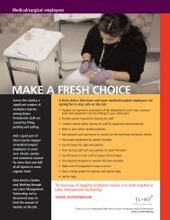 Eight safety tips posters - N. Cal. - Labor Management Partnership