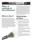 Fiber Is Coming To Fort Sumner! - Plateau - Page 2