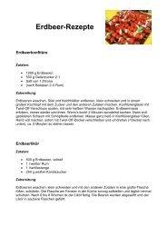 Erdbeer-Rezepte