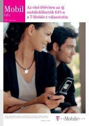 Mobil Info 2006. szeptember - T-Mobile