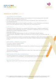 memoria de calidades pdf - Idealista