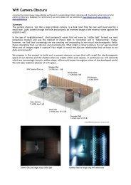 Wifi Camera Obscura - aether architecture