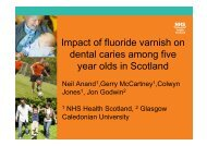 Impact of fluoride varnish on dental caries among five year olds in ...