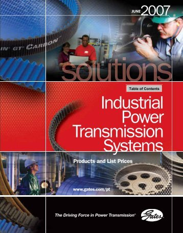 Gates 2007 Industrial Power Transmission Systems - Tecnica ...