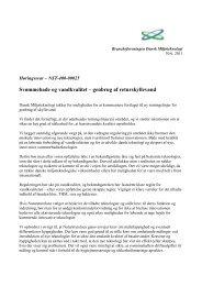 genbrug af returskyllevand - Dansk Miljøteknologi
