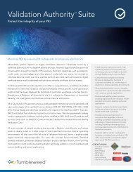 Validation Authority™ Suite - Global Forte