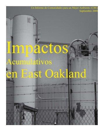 Acumulativos - Communities for a Better Environment