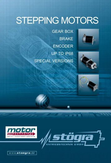 STEPPING MOTORS - Motor Technology Ltd