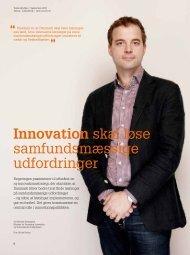 Innovation skal løse samfundsmæssige udfordringer - KTC