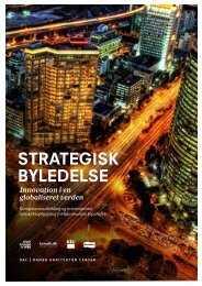 STRATEGISK BYLEDELSE - Dansk Arkitektur Center