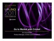 Go-to-Market-with-Cricket (pdf) - Uplinq