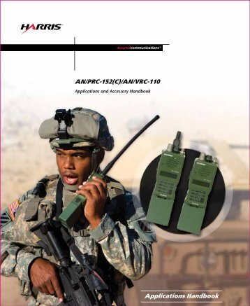 AN-PRC-152(C) - Harris RF Communications - Harris Corporation
