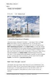 PAGE online, 31.08.2011 Seite 1 - Triad Berlin