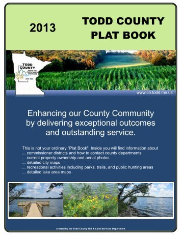 todd county plat book 2013