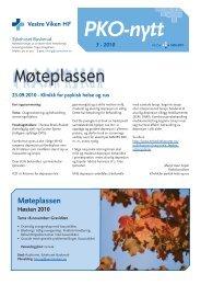 PKO-nytt_Drammen_2010_nr_3 - Vestre Viken HF