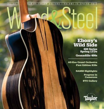 Wood&Steel; English - Taylor Guitars
