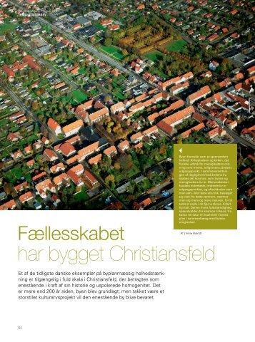 har bygget Christiansfeld - Bygningskultur 2015