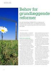 Behov for grundlæggende reformer - KTC