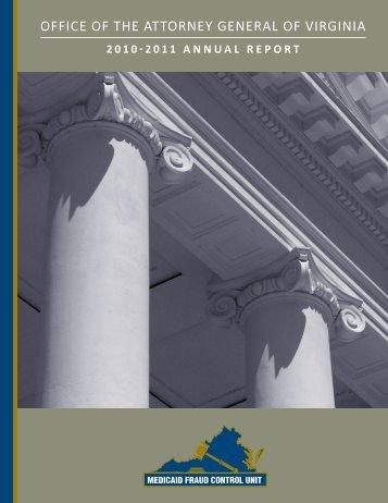 2010-2011 - Virginia Attorney General