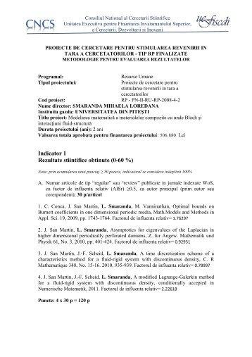 Mihaela Loredana SMARANDA - CNCS