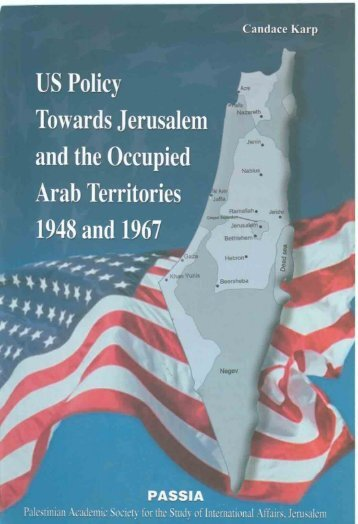US Policy Towards Jerusalem and the Occupied Arab