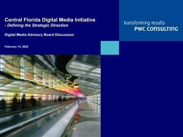 Central Florida Digital Media Initiative - Metro Orlando Economic ...