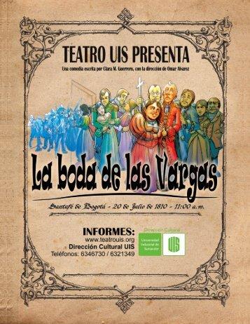 prensa - Teatro UIS