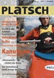 platsch 1/2007 - Solothurner Kajakfahrer