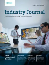 Industry Journal - Siemens