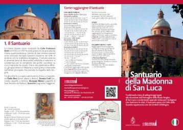 Percorso San Luca - Bologna Welcome