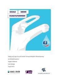 VIB sociale medier AAU 2012 med ISBN - Vand i Byer