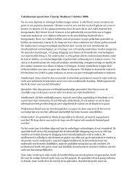 Valedictorian speech door Claartje Meddens - Liberal Arts and ...
