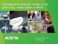 Konceptuel hydraulisk model for et grønt tag - hvad ... - Vand i Byer