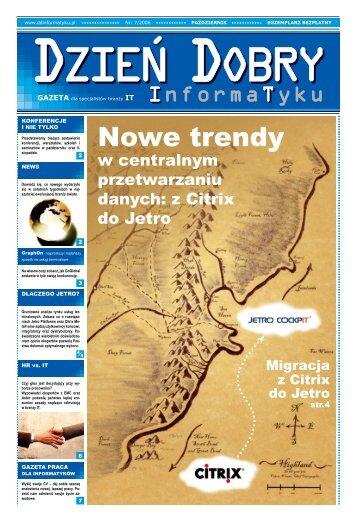 Nowe trendy - Dzień Dobry Informatyku