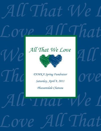 All That We Love - Montclair Kimberley Academy